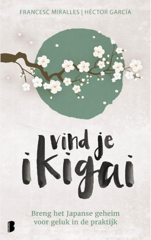 Het Boek Vind je ikigai van García en Miralles