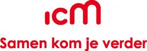ICM logo zonder or - skjv onder centreerd fc